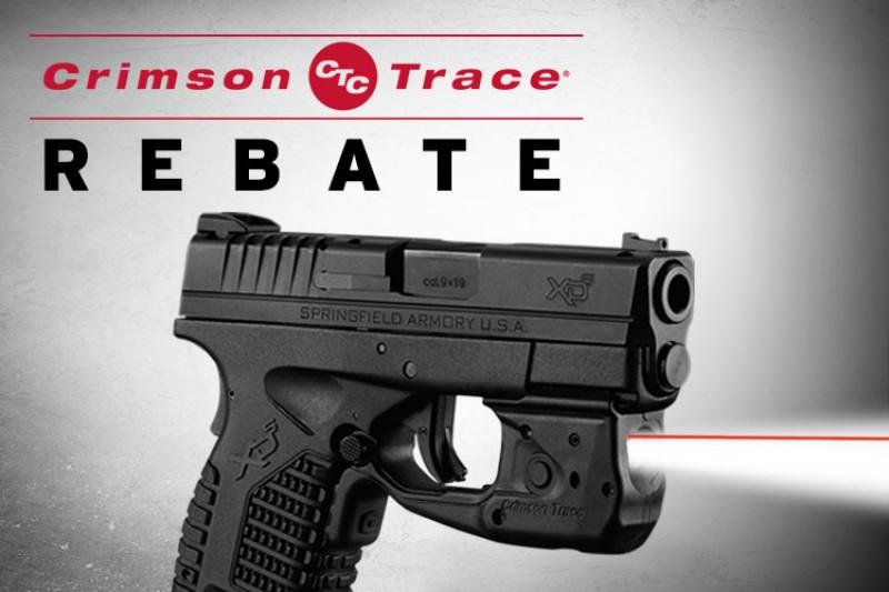 Crimson Trace Rebate: Laser and Light Rebate