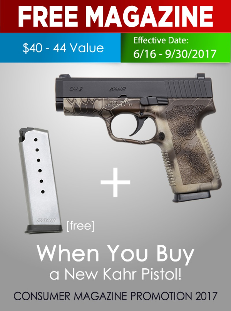 Kahr Arms to Give Away Free Magazines