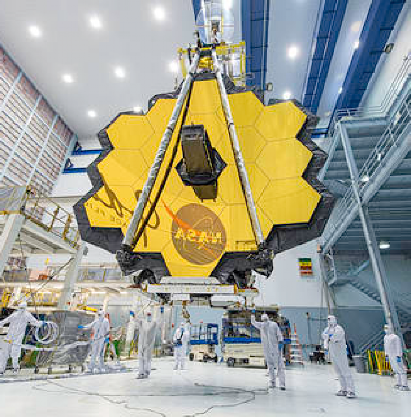 Aligning the Primary Mirror Segments of NASA's James Webb Space Telescope with Light