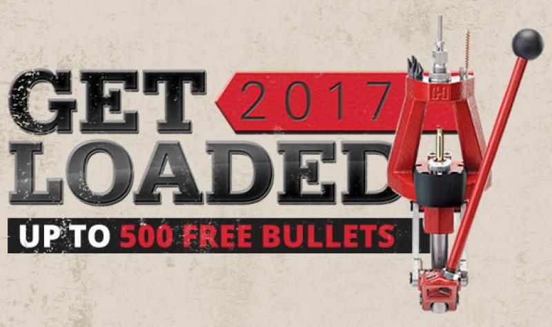 Hornady Promotion: Get Loaded 2017 EXPIRES DEC 31, 2017