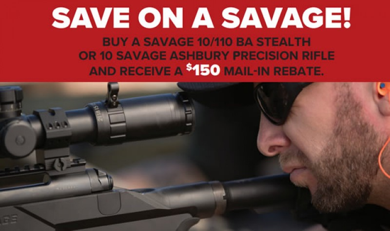 Savage Rebate: Hit Your Target EXPIRES DEC 31, 2017