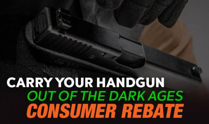 Truglo Rebate: Out of the Dark Ages Rebate EXPIRES DEC 31, 2017