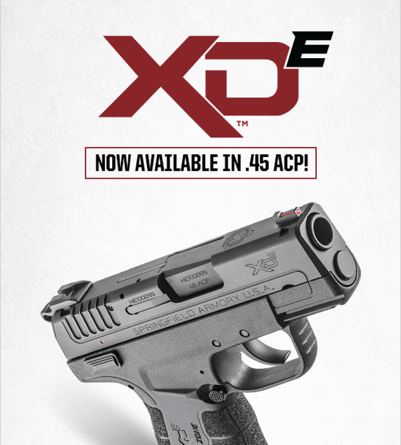 New XD-E | Now Available in .45ACP