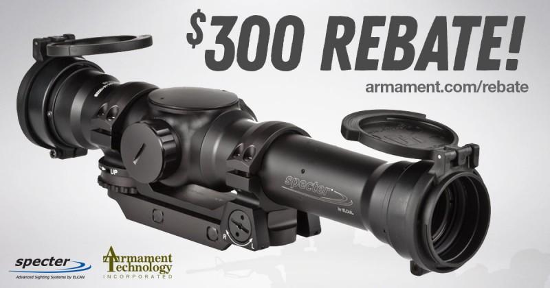 $300 REBATE Elcan Specter TR 1-3-9