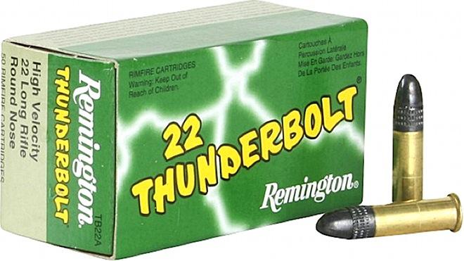 Remington Rimfire: 22 Thunderbolt® TB-22A 22 Long Rifle Ammunition Recall