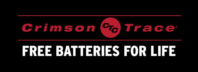 Crimson Trace Free Batteries For Life!