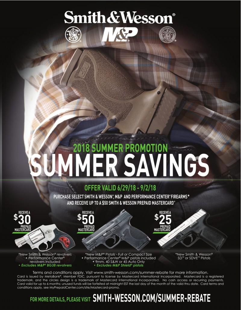 Summer Savings - S&W