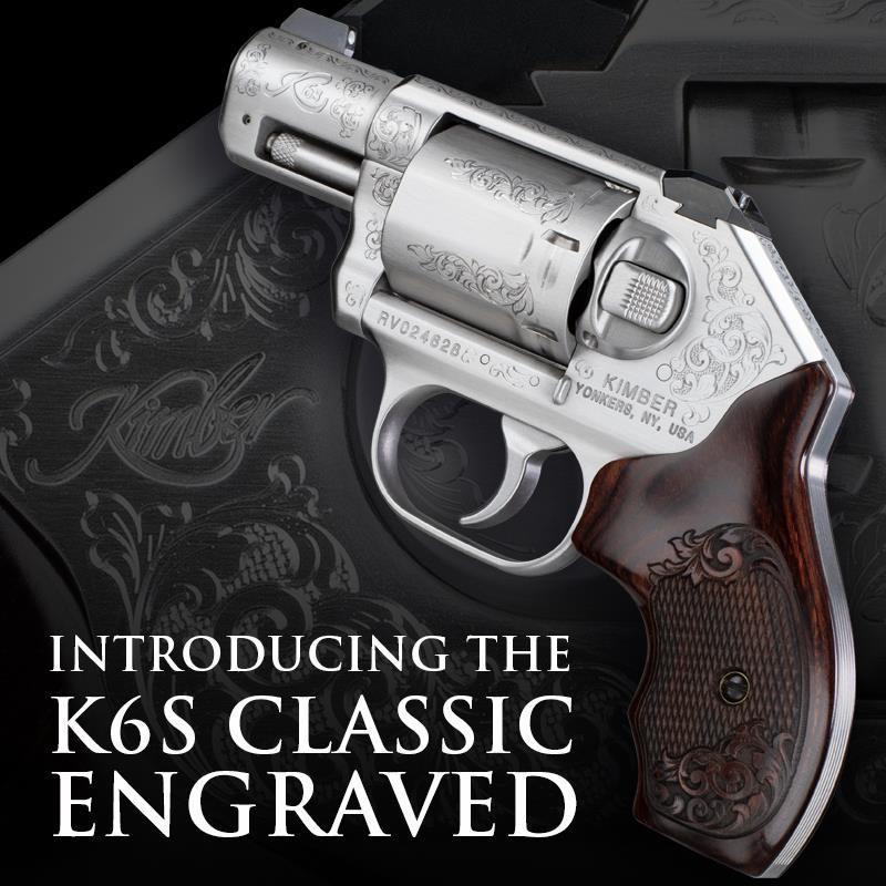 Kimber Announces Engraved K6s Revolver