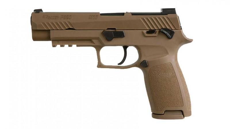 SIG Sauer Announces Commercial P-320 M17 Pistol