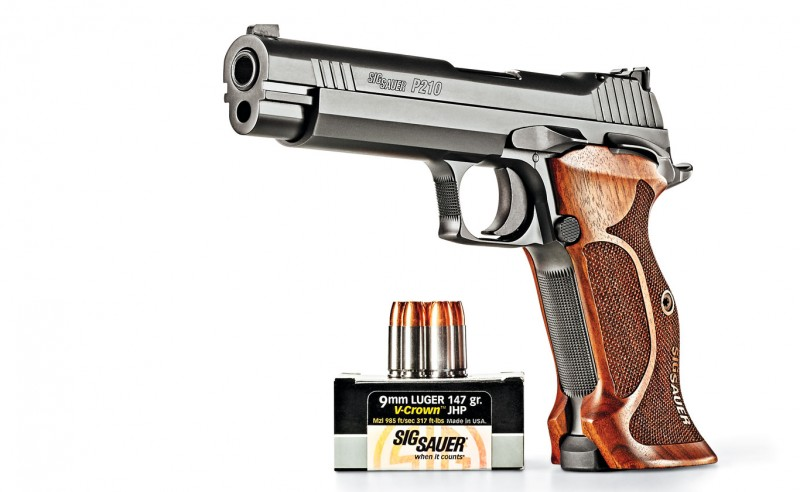 Review: The SIG P210 Target