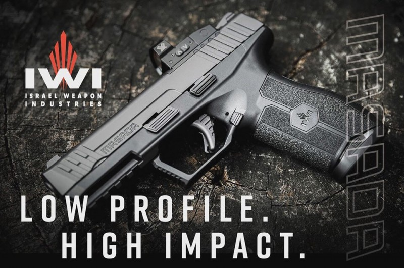 IWI-US Now Shipping 9mm Masada Pistols