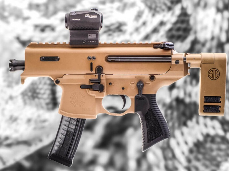 SIG MPX Copperhead 9mm Pistol Review