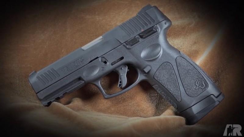 Firing the Taurus G3 9 mm Pistol
