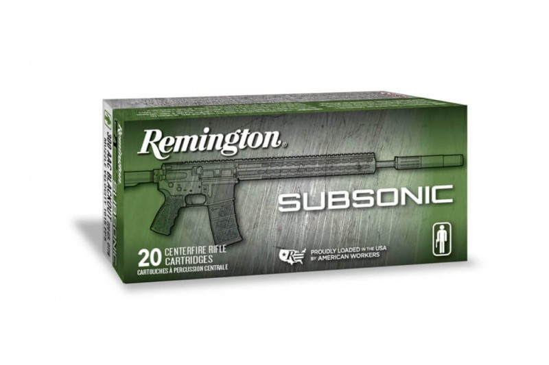 Less Than the Speed of Sound: Testing Remington's New Subsonic Ammunition