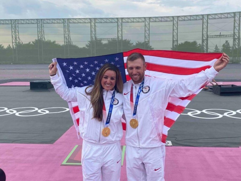 Team USA Wins Gold in Men's and Women's Skeet Shooting in Tokyo Olympics