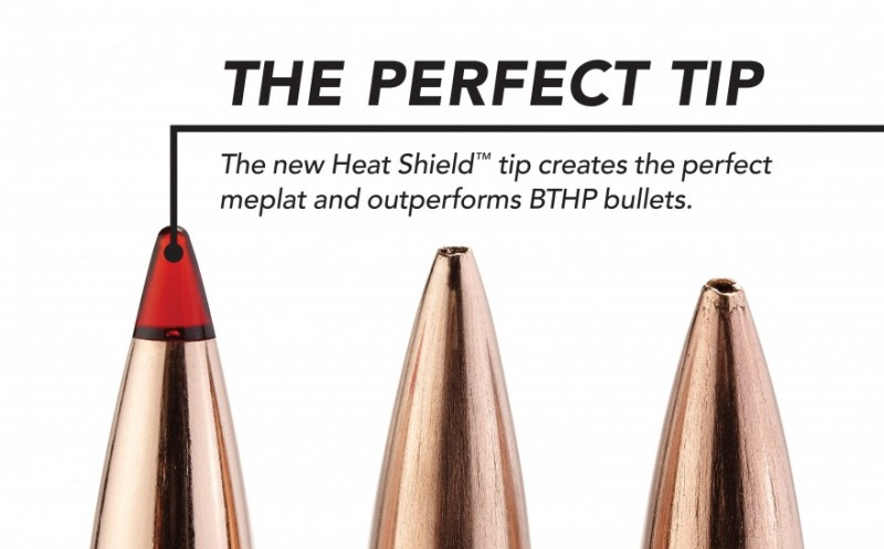 Hornady Solves Long-Range Hunting Bullet Problem With Heat Shield Tip