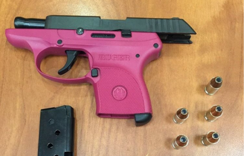 People keep trying to get pink guns through airport security
