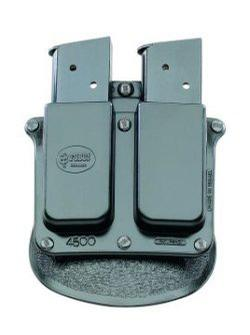 Fobus Double Magazine Belt Pouch for Single Stack .45