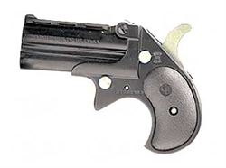 "Cobra Enterprises CB9 Big Bore Derringer 9mm Luger 2.75"" Barrels 2 Rounds Black Synthetic Grips Blued Finish CB9BB"