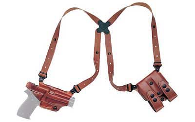 Galco Miami Classic Shoulder Holster System, Tan, Sig 220/226