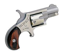 """NAA 22S 22 Short Rosewood Grip Single 22 Short 1.1"""" 5 Rosewood Stainless"""