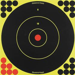 Shoot-N-C 12 Round Target - Chartreuse