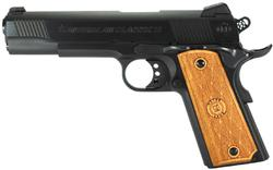 American Classic Government II Matte Black/Wood .45ACP 5-inch 8Rd