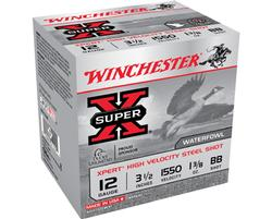 "12 Gauge - 3"" #3 Shot - Winchester Super-X Waterfowl - 25 Rounds"