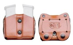 Desantis Double Magazine Pouch SGL Stock 9mm/0