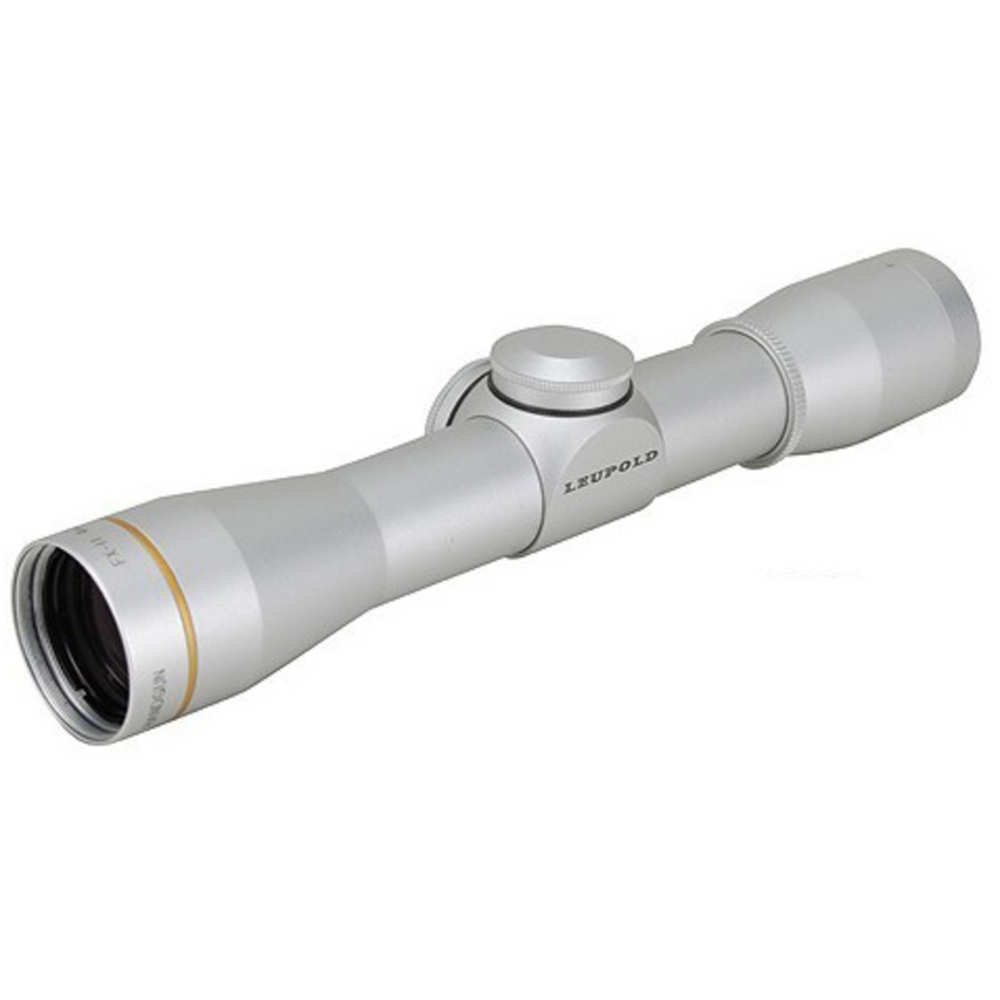 Leupold FX-II 4x28mm Handgun Rifle Scope, Silver, Duplex Reticle