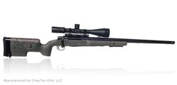 """CheyTac USA """"PERSES""""™ .338 Lapua Mag Tactical Engagement Rifle CheyTac USA's """"Composite Stock"""""""