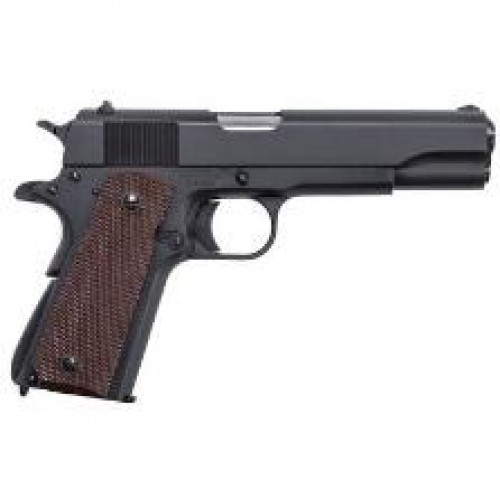 "Thompson 1911BKOC 1911 Commader Single 9mm 4.25"" 7+1 Brown Polymer Grip Black"