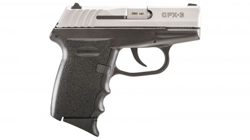 """SCCY CPX-3 380ACP 10RD 3.1"""" 2TONE"""