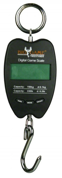 Muddy MUDDY 330LB DIGITAL SCALE MEASURES IN LBS/KILOS/STONES