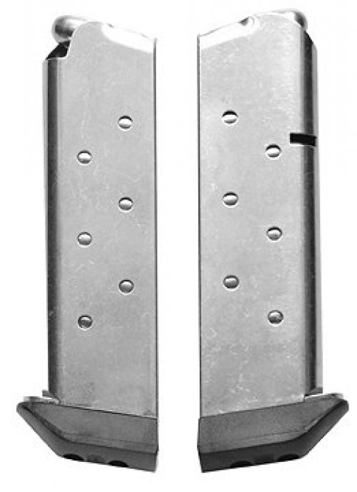 Chip McCormick 8rd .45ACP Stainless with Pad