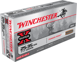 Winchester X 25-35 117Grain Soft Point 20rds