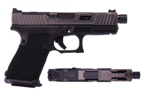 ZEV Technologies ZEV G19 G4 Raptor Blk TH GUN.MOD-LP.GM-RG19-TH