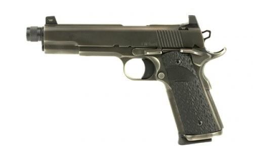 Dan Wesson 01849 1911 Wraith Single 9mm Luger 5.7 8+1 Black G10 Grip Distresse