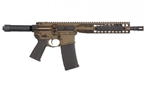 LWRC Direct Impingement Pistol Burnt Bronze 5.56 NATO 10-inch 30rd