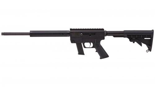 Just Right Carbines Gen 3 Quadrail Semi Auto Rifle Desert Camo 9 mm 17 inch 17 rd Threaded Barrel
