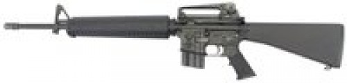 """Stag Arms STAG-15 Retro Semi Auto Rifle 5.56 NATO 20"""" Heavy Barrel 20 Rounds Mil-Spec A2 Furniture with A3 Carry Handle Fixed Stock Black"""