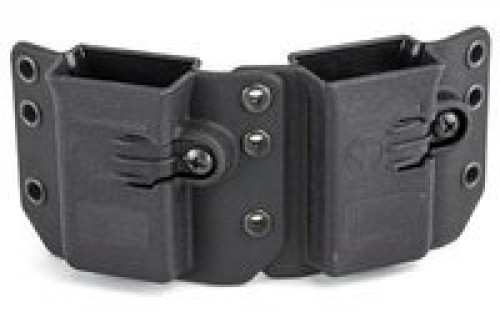Raven Concealment Single Modular Pistol Mag Carrier - DS94U DMC BK S STD-1.5