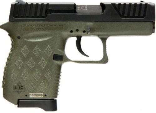 Diamondback DB9 OD Green 9mm 3-inch 6rds