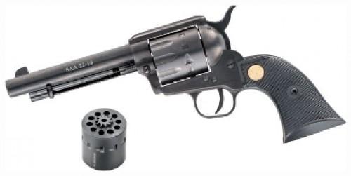 Chiappa SAA22-10 Dual Cylinder Black .22LR 5.5-inch 10rd