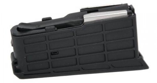 Sako A7, 3 Round Rifle Magazine, For Magazine Type D, Black, Medium Action S5C60386-3RD