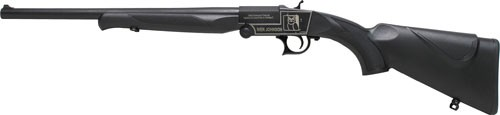 "Iver Johnson IJ700 Youth Single Shot Break Action Shotgun 20 Gauge 18.5"" Barrel 1 Round 3"" Chambers Synthetic Stock Black Finish"