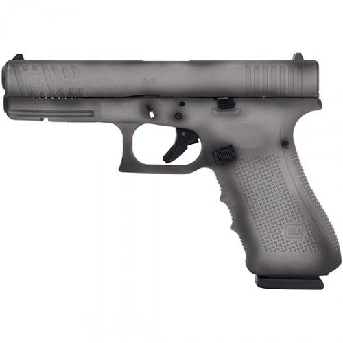 "Glock 17 Gen4 9mm 4.49"" Fs 17rd Shadow Grey"