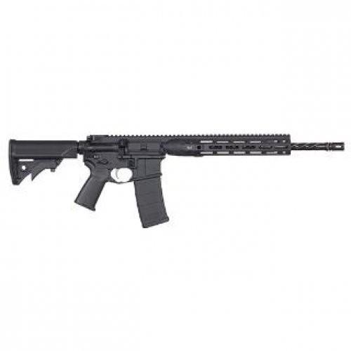LWRC DI M-LOK AR-15 Semi Auto Rifle 5.56 NATO 16.1-Inch 30 Rd Modular One Piece M-LOK Free Float Rail
