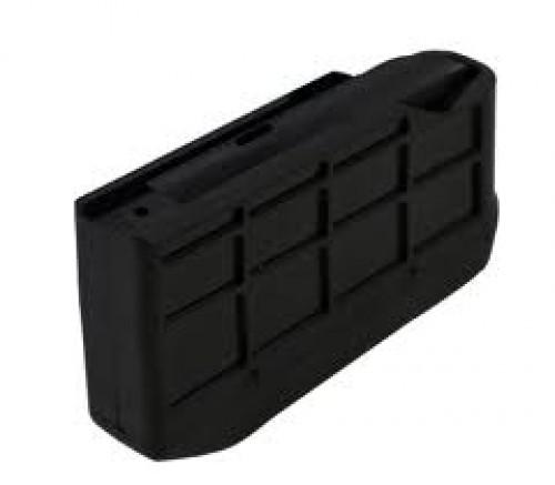 Sako Tikka T3 Flush, 3 Round Rifle Magazine / Fits Caliber 270 WSM, 300 WSM, Black, Fits Tikka T3 S5850371-3RD