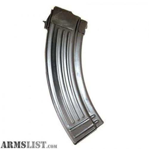 RWB Magazines Magazine AK-47 7.62x39mm 30 Round Steel Black RWB AK4730